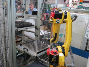 robotic handling